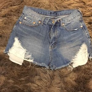 ***SOLD***Jean Shorts